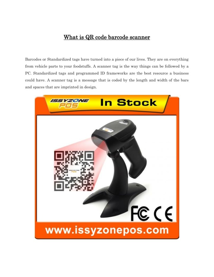 PPT - What is QR code barcode scanner PowerPoint Presentation - ID