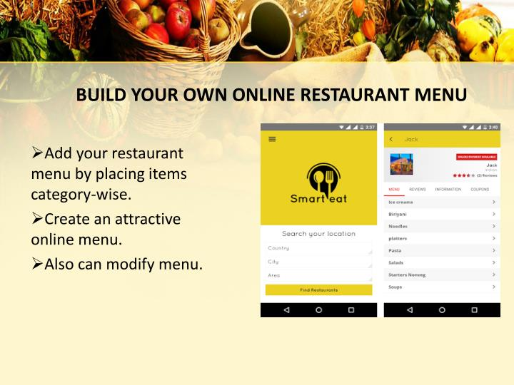 ppt the best online food ordering website and mobile app