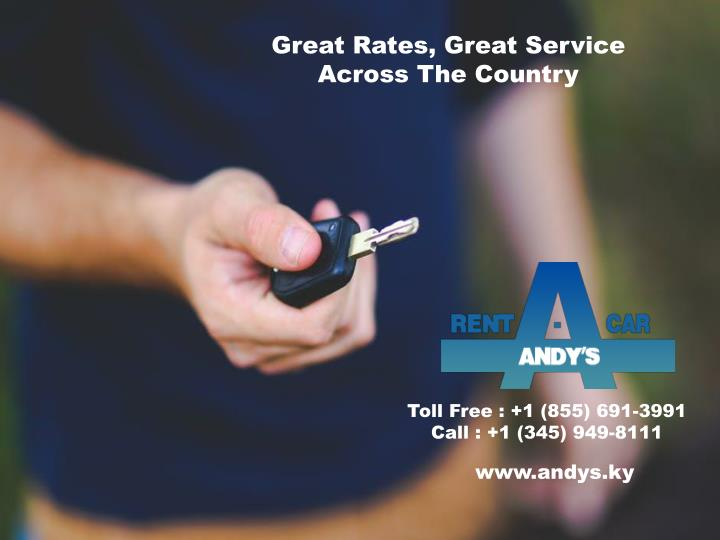 great rates great service across the country n.