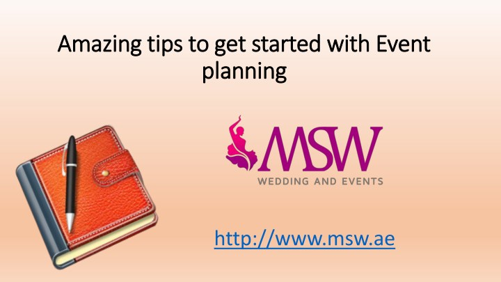 amazing tips to get started with event amazing n.