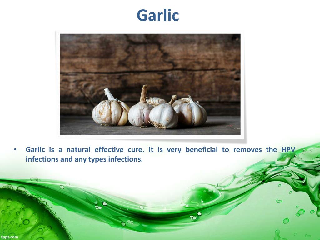 Garlic And Hpv