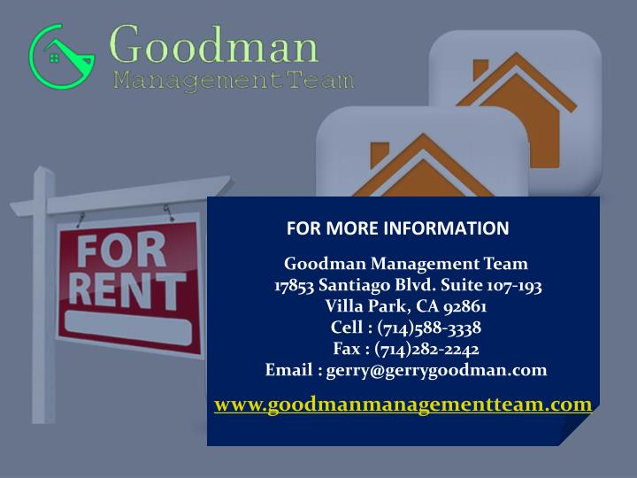 Property Management Companies In Orange County Ca