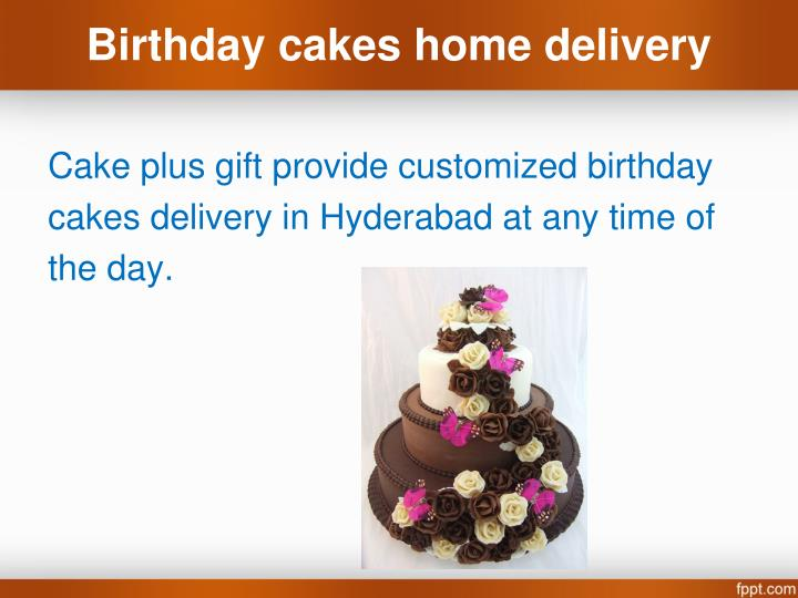 Birthday Cake Home Delivery Hyderabad