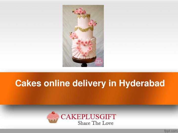 Cakes Online Delivery In Hyderabad