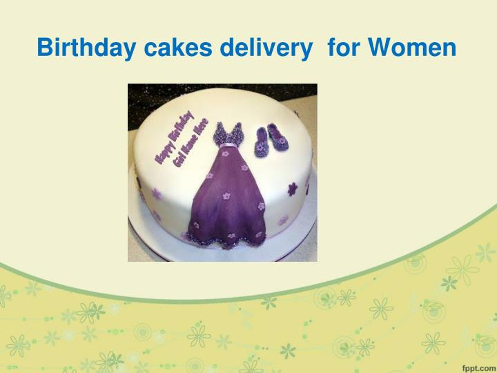 Birthday Cakes Delivery For Women
