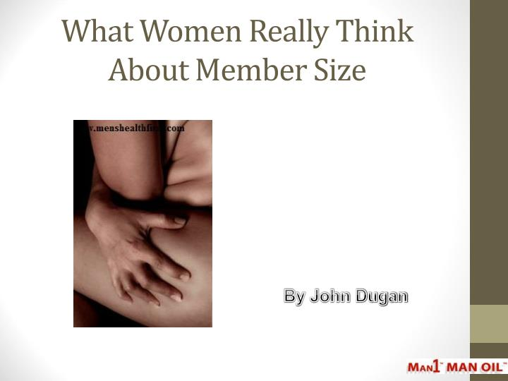 what women really think about member size n.