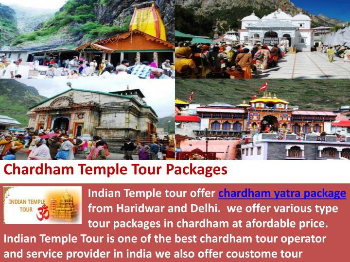 chardham temple tour packages n.