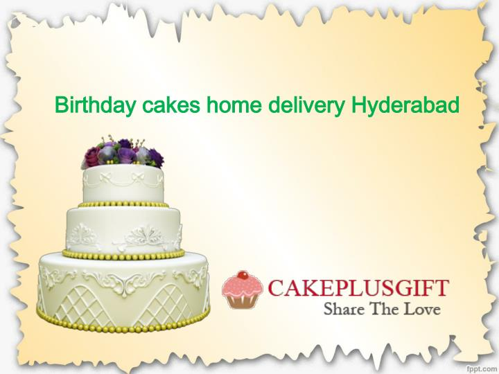 Birthday Cakes Home Delivery Hyderabad Online