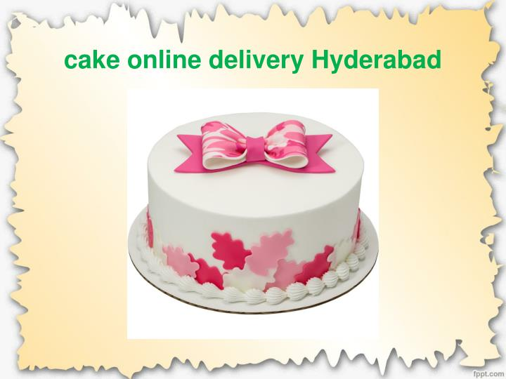 Cake Online Delivery Hyderabad