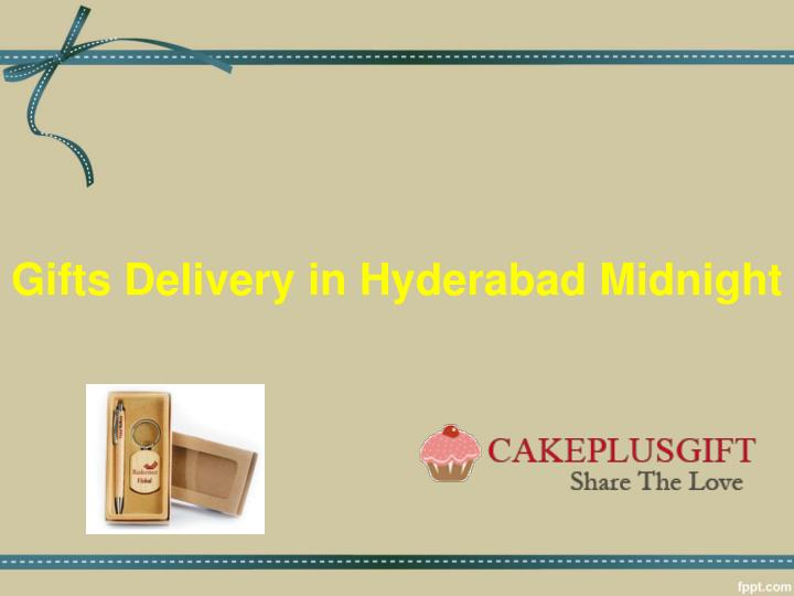 gifts delivery in hyderabad midnight n.