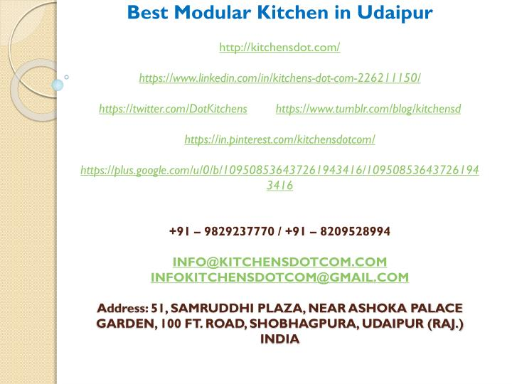 best modular kitchen in udaipur http kitchensdot n.
