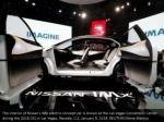 the interior of nissan s imx electric concept