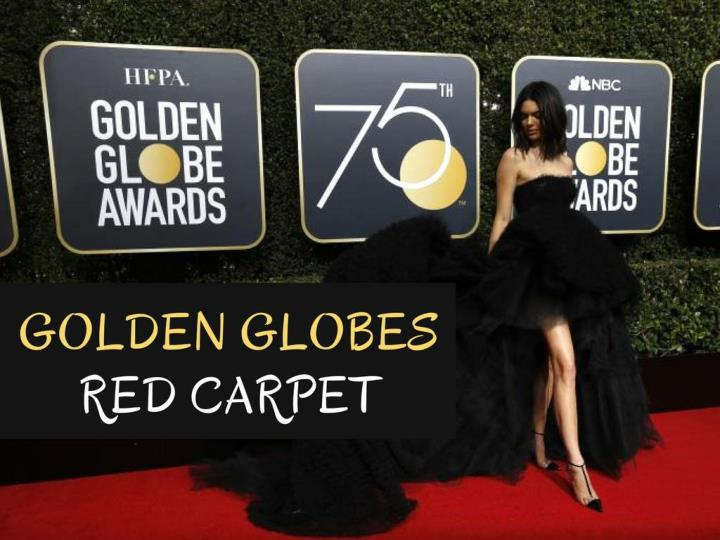 golden globes red carpet n.