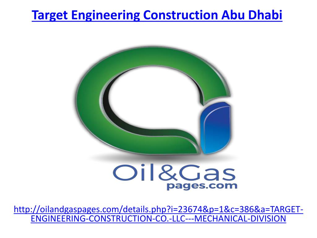 PPT - The best target engineering construction company in abu dhabi