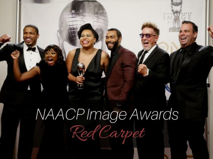 naacp image awards red carpet n.