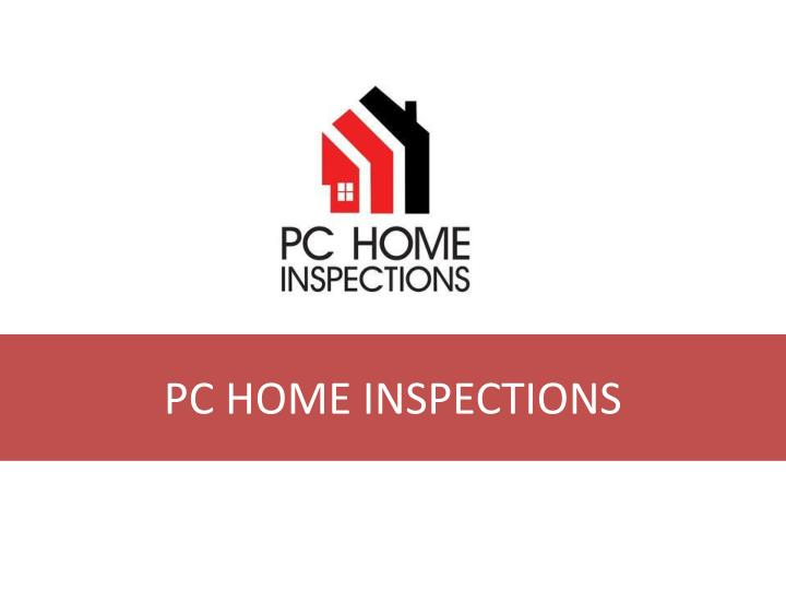 pc home inspections n.