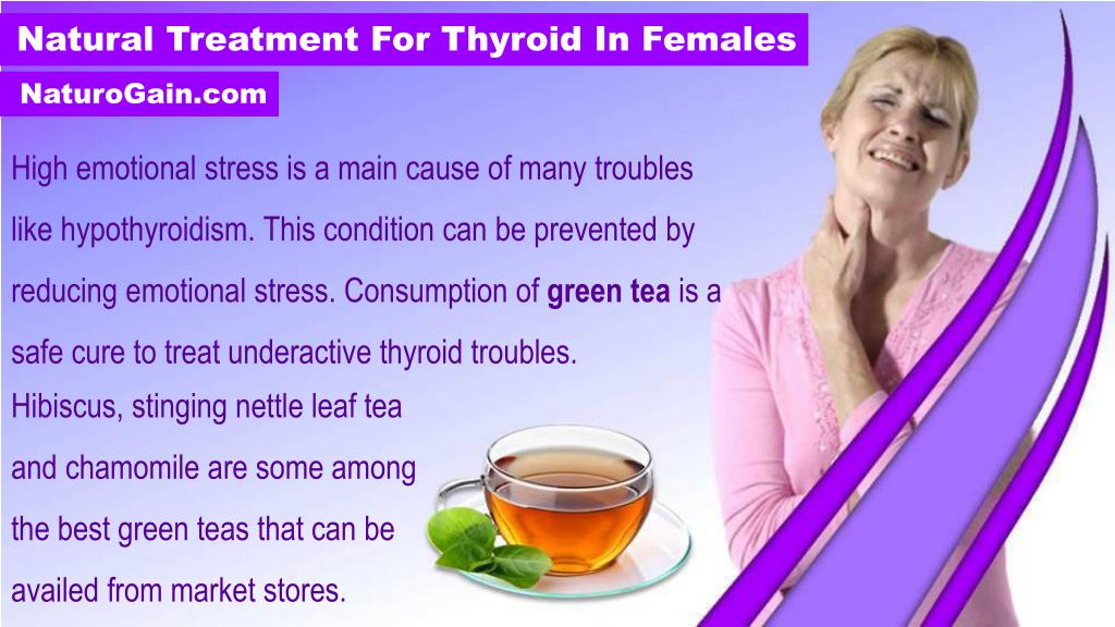 PPT - Natural Treatment to Relieve Symptoms of Thyroid Problems in
