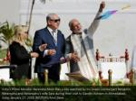 india s prime minister narendra modi flies a kite