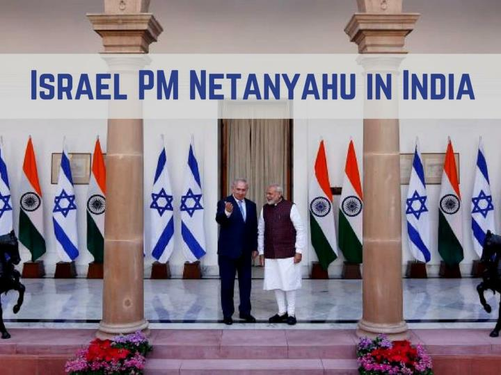 israel pm netanyahu in india n.