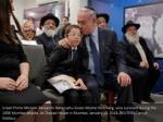 israeli prime minister benjamin netanyahu kisses