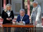 israeli prime minister benjamin netanyahu writes