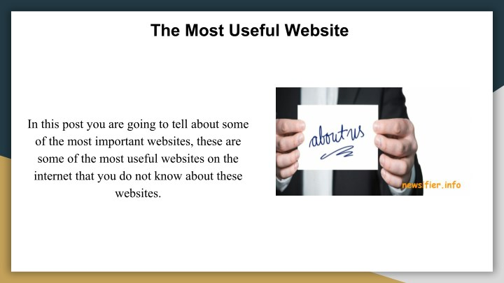 the most useful website n.