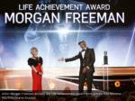 actor morgan freeman accepts the life achievement
