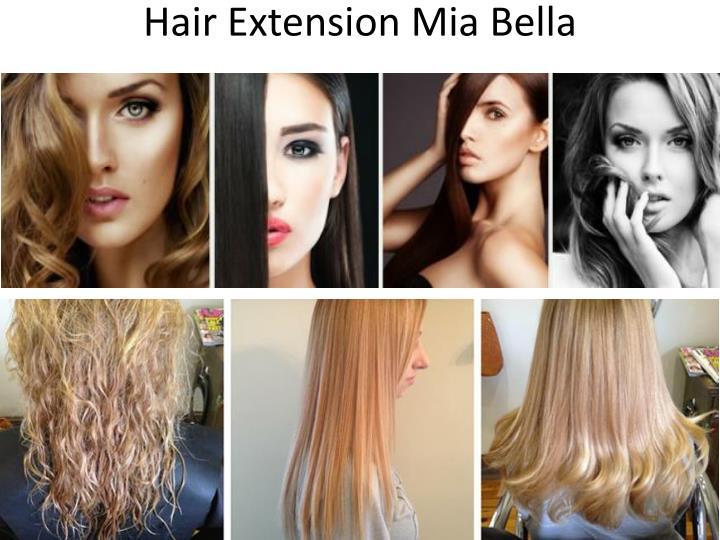 PPT - Hair Extension Mia Bella Hair Design Texture color Highlights ... 953782628673