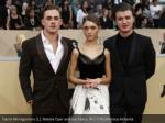 dacre montgomery l natalia dyer and joe keery