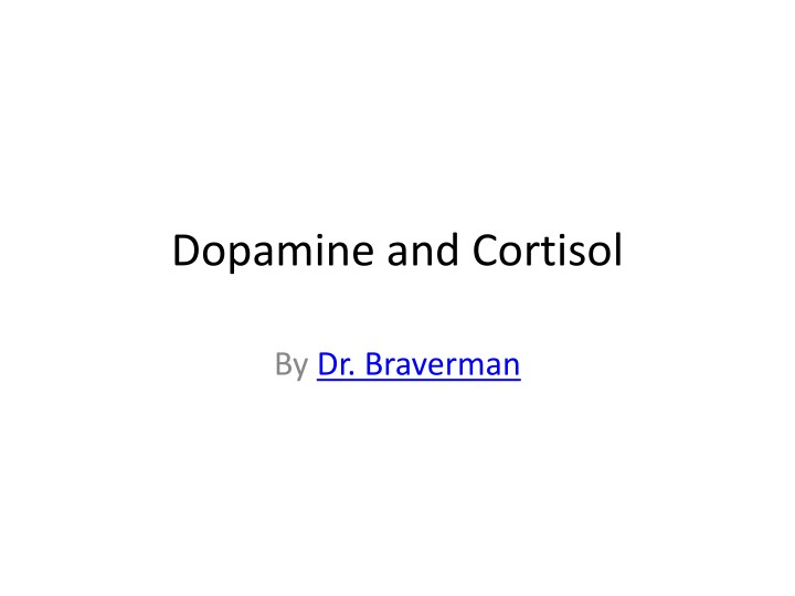 dopamine and cortisol n.