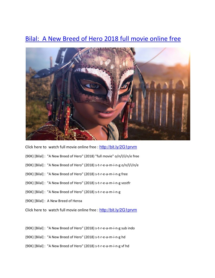 bilal a new breed of hero 2018 full movie online n.