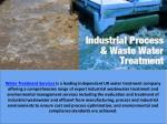 water treatment services is a leading independent