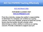 acc 562 papers teaching effectively 11