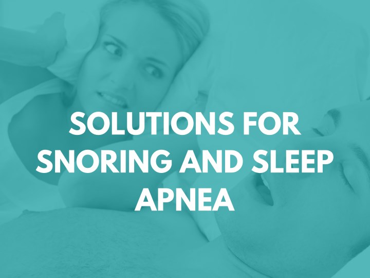 solutions for snoring and sleep apnea n.