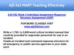 ajs 562 mart teaching effectively 8