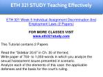 eth 321 study teaching effectively 30