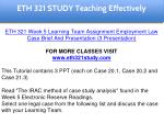 eth 321 study teaching effectively 31