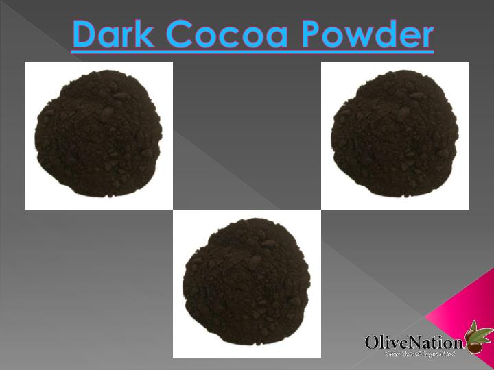 dark cocoa powder n.