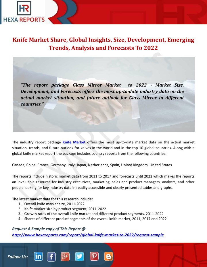 knife market share global insights size n.