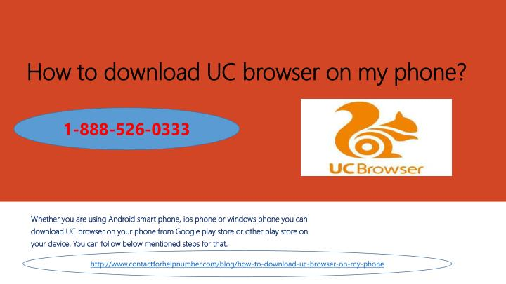 how to download uc browser on my phone n.