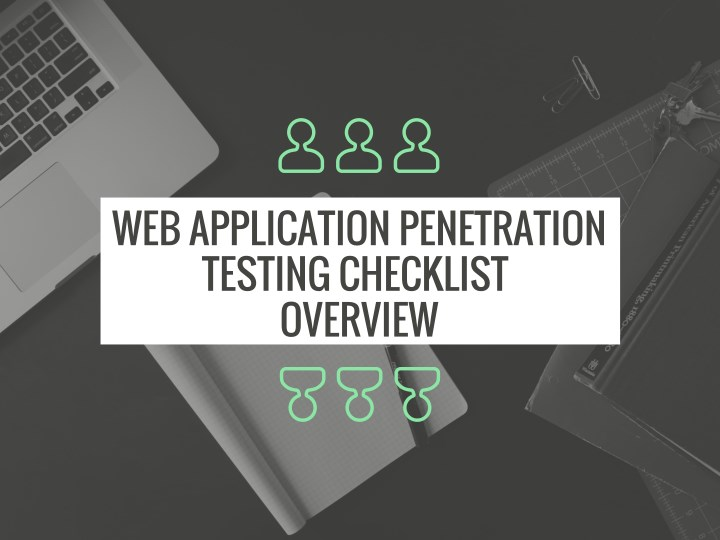 web application penetration testing checklist n.