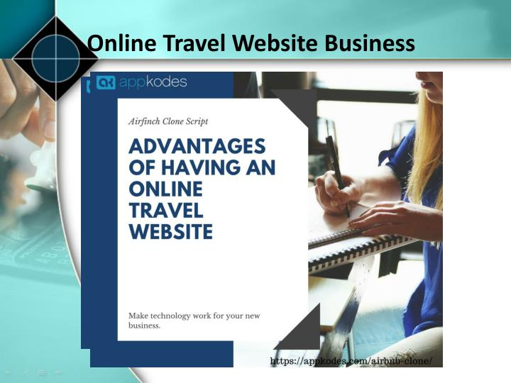 online travel website business n.