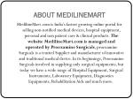 about medilinemart