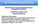 hm 370 rank teaching effectively 6