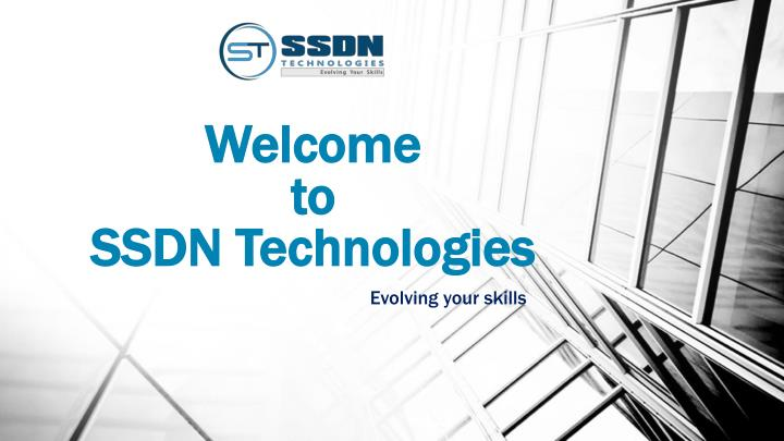 welcome to ssdn technologies n.