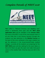 complete details of neet 2018 complete details