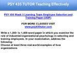psy 435 tutor education specialist 12