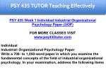 psy 435 tutor education specialist 4