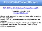 psy 435 tutor education specialist 7