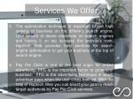 services we offer 1
